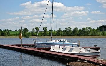 Port jachtowy Kleszczewo cz.5